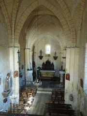 Eglise Saint-Eutrope - English: church of Lusignac, Dordogne, SW France