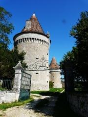 Château de Beauvais - Français:   L\'entrée du château de Beauvais, Lussas-et-Nontronneau, Dordogne, France