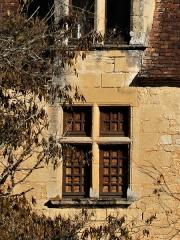 Manoir de Roucaudou - Français:   Fenêtre à meneaux, manoir de Roucaudou, Manaurie, Dordogne, France.
