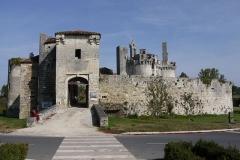 Château de Mareuil - Français:   Le château de Mareuil-sur-Belle