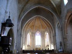 Eglise Saint-Dominique - Français:   Monpazier - Eglise Saint-Dominique