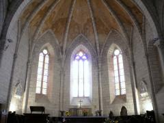 Eglise Saint-Dominique - Français:   Monpazier - Eglise Saint-Dominique - Abside