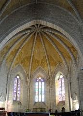 Eglise Saint-Dominique - Français:   Monpazier - Église Saint-Dominique - Abside