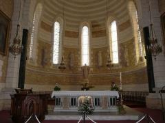 Eglise Saint-Pierre-ès-Liens - Français:   Le chœur de l\'église Saint-Pierre-ès-Liens de Montignac, Dordogne, France.
