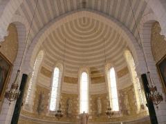 Eglise Saint-Pierre-ès-Liens - Français:   Cul de four du chœur de l\'église Saint-Pierre-ès-Liens de Montignac, Dordogne, France.