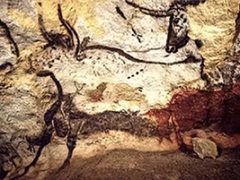 Grotte de Lascaux - English: Lascaux Caves - Prehistoric Paintings.