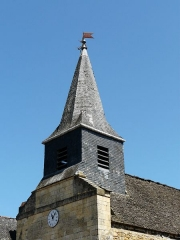 Ancien hôpital Saint-Jean ou ancien prieuré - Français:   Le clocher de la chapelle de l\'ancien prieuré, Montignac, Dordogne, France.