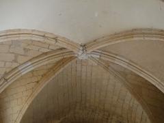 Ancien hôpital Saint-Jean ou ancien prieuré - Français:   Croisée d\'ogives dans la chapelle de l\'ancien prieuré, Montignac, Dordogne, France.