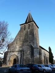 Eglise Notre-Dame de l'Assomption de Ménesterol - Français:   Vue depuis le sud-ouest, l\'église Saint-Pierre-ès-Liens, Ménestérol, Montpon-Ménestérol, Dordogne, France