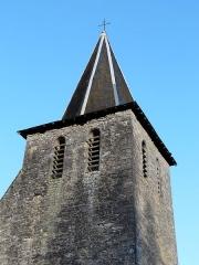 Eglise Notre-Dame de l'Assomption de Ménesterol - Français:   Vu depuis le sud-ouest, le clocher de l\'église Saint-Pierre-ès-Liens, Ménestérol, Montpon-Ménestérol, Dordogne, France
