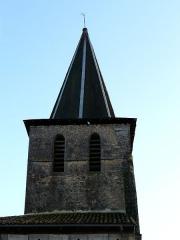 Eglise Notre-Dame de l'Assomption de Ménesterol - Français:   Vu depuis le côté nord, le clocher de l\'église Saint-Pierre-ès-Liens, Ménestérol, Montpon-Ménestérol, Dordogne, France