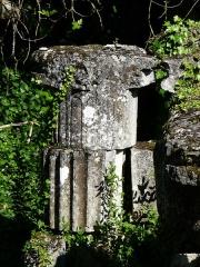Vestiges de la citadelle gallo-romaine de Vésone - Ruines gallo-romaines au 20-22 rue Romaine, Périgueux, Dordogne, France.