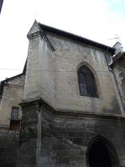 Couvent de Sainte-Marthe - Français:   Contrefort sud-est de la chapelle Saint-Jean-Baptiste, Périgueux, Dordogne, France.