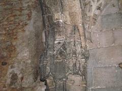 Couvent de Sainte-Marthe - Français:   Sculptures en bas-relief dans la chapelle Saint-Jean-Baptiste, Périgueux, Dordogne, France.