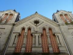 Ancienne loge maçonnique - Français:   Côté rue Notre-Dame, le temple maçonnique de Périgueux, Dordogne, France.
