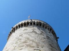 Tour Mataguerre - Français:   Les mâchicoulis de la tour Mataguerre, Périgueux, Dordogne, France.