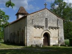 Eglise Saint-Denis - Français:   Eglise de Ponteyraud, Dordogne, France