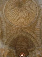Eglise Notre-Dame de la Nativité - Français:   Le plafond du chœur, église Notre-Dame-de-la-Nativité, Pressignac-Vicq, Dordogne, France.