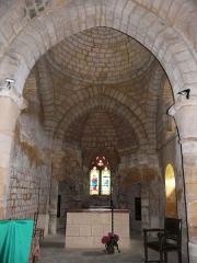 Eglise Notre-Dame de la Nativité - Français:   Le chœur de l\'église Notre-Dame-de-la-Nativité, Pressignac-Vicq, Dordogne, France.