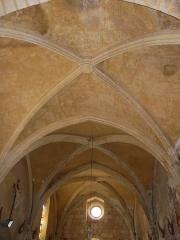 Eglise Notre-Dame de la Nativité - Français:   Le plafond de la nef, église Notre-Dame-de-la-Nativité, Pressignac-Vicq, Dordogne, France.