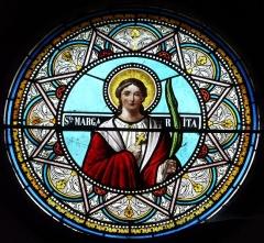 Eglise Notre-Dame de la Nativité - Français:   Rosace de l\'église Notre-Dame-de-la-Nativité, Pressignac-Vicq, Dordogne, France.