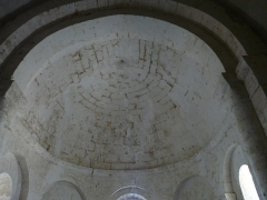 Eglise Saint-Pierre de Faye - Français:   La voûte en cul de four de l\'abside, église Saint-Pierre de Faye, Ribérac, Dordogne, France.
