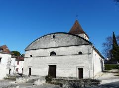 Ancienne église Notre-Dame - Français:   La façade occidentale de l\'ancienne église Notre-Dame, Ribérac, Dordogne, France.