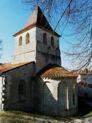 Ancienne église Notre-Dame - Français:   Le chevet de l\'ancienne église Notre-Dame vu du sud-est, Ribérac, Dordogne, France.