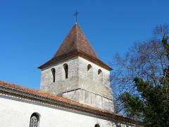 Ancienne église Notre-Dame - Français:   Le clocher de l\'ancienne église Notre-Dame vu du sud-ouest, Ribérac, Dordogne, France.