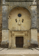 Eglise Saint-Germain de Rouffignac - Français:   Le portail Renaissance (1530) de l\'Eglise Saint-Germain-de-Paris à Rouffignac-Saint-Cernin-de-Reilhac, Dordogne.