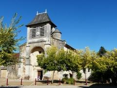 Eglise Saint-Germain de Rouffignac - Français:   L\'église Saint-Germain de Paris vue du sud-ouest, Rouffignac-Saint-Cernin-de-Reilhac, Dordogne, France.