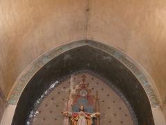 Eglise Saint-Germain de Rouffignac - Français:   L\'arc du chœur de l\'église Saint-Germain de Paris, Rouffignac-Saint-Cernin-de-Reilhac, Dordogne, France.