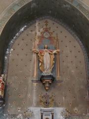 Eglise Saint-Germain de Rouffignac - Français:   Le chœur de l\'église Saint-Germain de Paris, Rouffignac-Saint-Cernin-de-Reilhac, Dordogne, France.