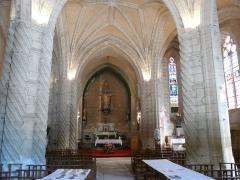 Eglise Saint-Germain de Rouffignac - Français:   La nef de l\'église Saint-Germain de Paris, Rouffignac-Saint-Cernin-de-Reilhac, Dordogne, France.