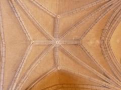 Eglise Saint-Germain de Rouffignac - Français:   Détail du plafond de l\'église Saint-Germain de Paris, Rouffignac-Saint-Cernin-de-Reilhac, Dordogne, France.