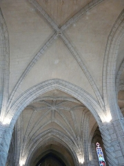 Eglise Saint-Germain de Rouffignac - Français:   Le plafond de l\'église Saint-Germain de Paris, Rouffignac-Saint-Cernin-de-Reilhac, Dordogne, France.