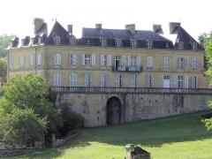Château du Roc - Français:   Saint-André-d\'Allas - Château du Roc, près d\'Allas - Façade est