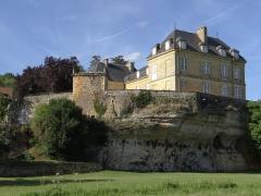 Château du Roc - Français:   Saint-André-d\'Allos - Château du Roc, façades sud et ouest