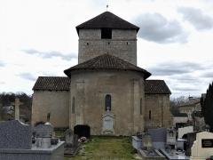 Eglise Sainte-Eulalie - Français:   Le chevet de l\'église de Saint-Aulaye, Saint Aulaye-Puymangou, Dordogne, France.