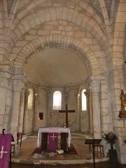 Eglise Sainte-Eulalie - Français:   Le chœur de l\'église de Saint-Aulaye, Saint Aulaye-Puymangou, Dordogne, France.