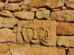 Grotte ornée de gravures prehistoriques, dite aussi Grotte du Sorcier - Français:   Site de la grotte de Saint-Cirq (Dordogne, France), également appelée grotte du Sorcier, contant des gravures préhistoriques datant du Solutréen et du Magdalénien.