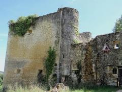Château de Fages - Français:   Saint-Cyprien - Château de Fages - Pavillon d\'entrée