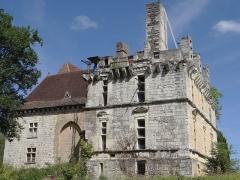 Château de Fages - Français:   Saint-Cyprien - Château de Fages - Façade côté ouest