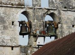 Eglise Saint-Martial - Français:   Les cloches de l\'église Saint-Martial, Saint-Martial-de-Valette, Dordogne, France.