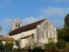 Eglise Saint-Martial - Français:   L\'église Saint-Martial vue du sud-est, Saint-Martial-de-Valette, Dordogne, France.