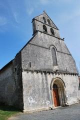 Eglise Saint-Martial - Français:   Ville de Saint-Martial de Valette. http://saint-martial-de-valette.fr