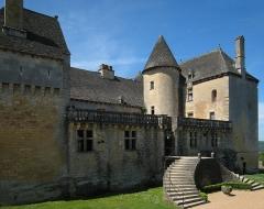 Château de Fénelon -  Château de Fénelon near the village of Sainte-Mondane, Département Dordogne/France.
