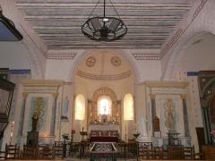 Eglise Saint-Ours - Français:   Le chœur de l\'église Saint-Ours, Sainte-Orse, Dordogne, France