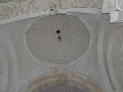 Eglise Saint-Vincent - Français:   La coupole de l\'église Saint-Vincent, Saint-Vincent-Jalmoutiers, Dordogne, France.