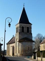 Eglise Saint-Vincent - Français:   L\'église Saint-Vincent, Saint-Vincent-Jalmoutiers, Dordogne, France.